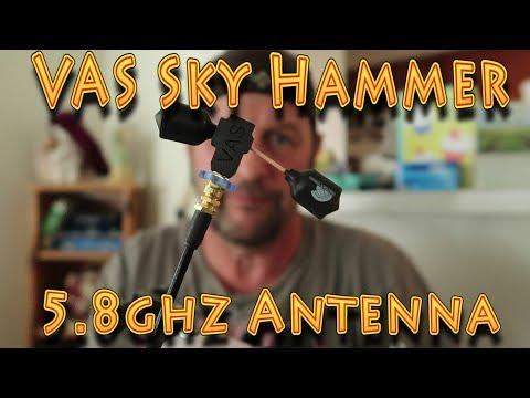 Review: VAS 5.8Ghz SkyHammer SMA Antenna!!! (10.08.2019) - UC18kdQSMwpr81ZYR-QRNiDg