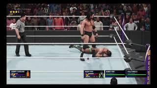WWE 2k19 - Johnny Gargano vs. Adam Cole w/Undisputed Era (NXT Title)