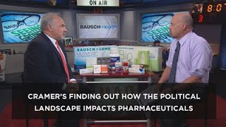 Cramer's Exec Cut: The state of major pharma and cannabis players amid geopolitical tensions