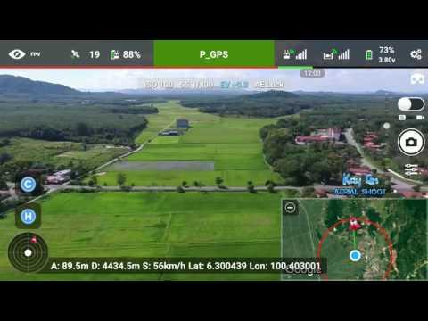 DJI Phantom 3 (Advance) Range Test 4.9KM & Almost CRASH!!