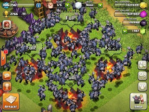 Clash of Clans - 135 Level 5 Minion Attack Epic WIN!!!!! - UCb61LvtKBNC1MO6v7t2Hx-Q