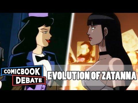 Evolution of Zatanna in Cartoons, Movies & TV in 8 Minutes (2018) - UCGBtk3J7PL40ZMhf3_1YBwg