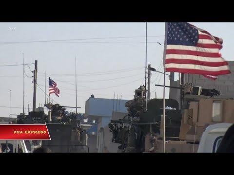 Mỹ bắt đầu rút quân khỏi Syria (VOA)
