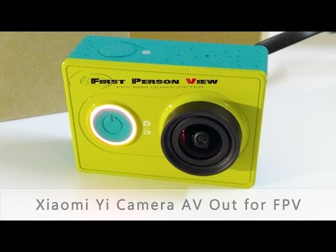 Xiaomi Yi Camera Firmware Upgrade 1.0.7 AV Output for FPV Drones - UC4Z68JdCSCYFTI6rYcQCN1A
