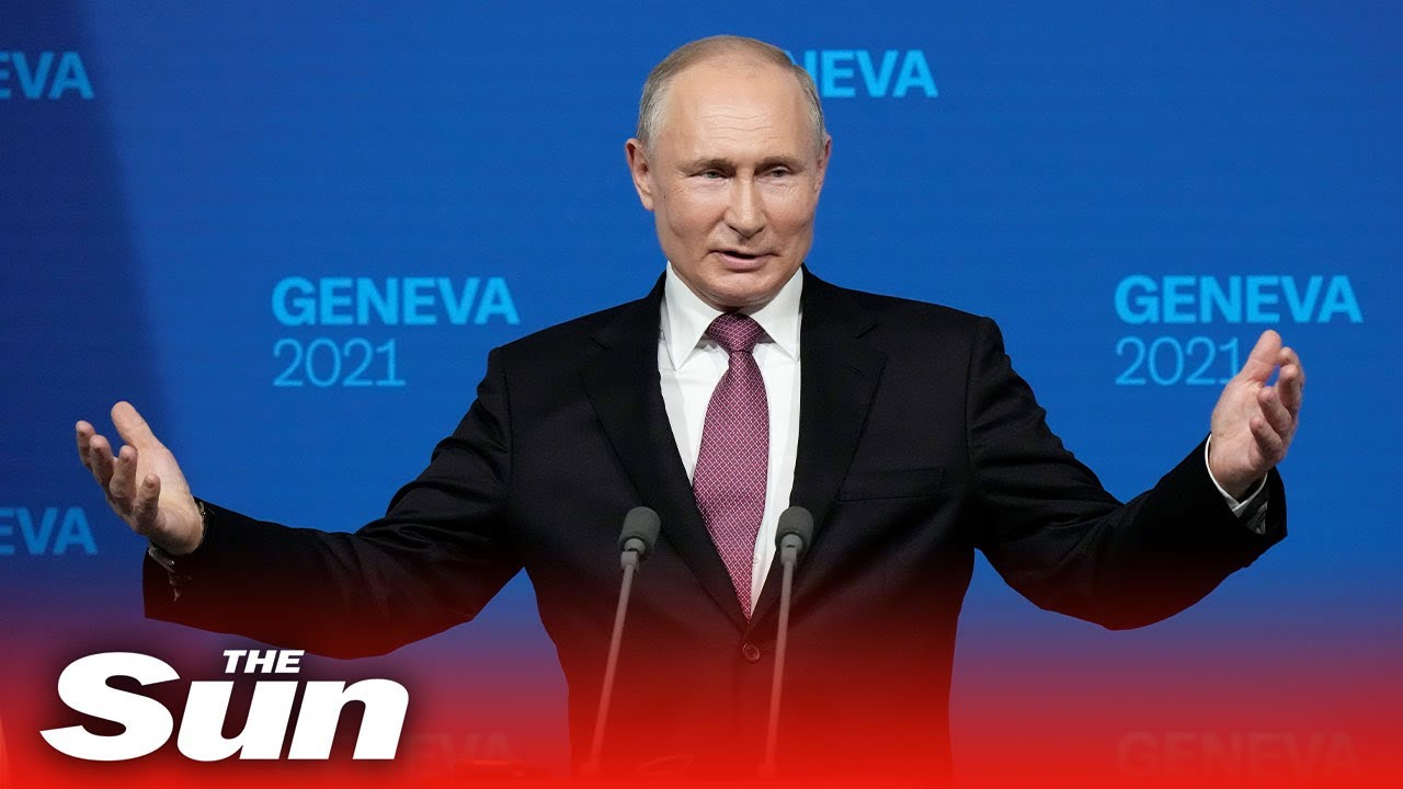 Putin says talks with Biden were constructive, and there is 'no hostility' between them