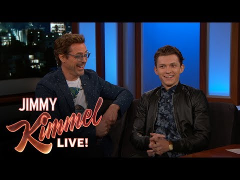 Robert Downey Jr. & Tom Holland on Spider-Man: Homecoming - UCa6vGFO9ty8v5KZJXQxdhaw