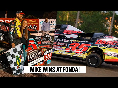 High Side Hustle For The Win At Fonda Speedway - dirt track racing video image