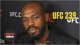 Jon Jones expects rematch vs. Thiago Santos | UFC 239 | ESPN MMA