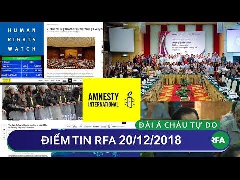 Điểm tin RFA tối 20/12/2018   Hội thảo Xã hội Dân sự thường niên lần 3 bị chính quyền ngăn cản