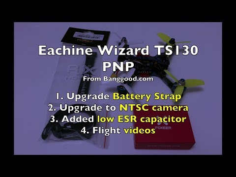 Eachine Wizard TS130 - Part 3/3 - More Updates - UCWgbhB7NaamgkTRSqmN3cnw