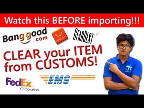 How to CLEAR CUSTOMS FAST!? [Hindi] How To Import Products from Banggood, Gearbest, etc to INDIA? - UCVvs4GDL5Ht714hrxHSjIrA