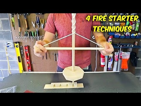 4 Primitive Techniques to Make Fire Every Man and Women Must Learn to Do! - UCkDbLiXbx6CIRZuyW9sZK1g