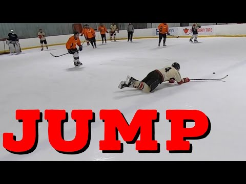 Jump - Hey Stripes! The Micd Up GoPro Hockey Refcam - Winter 2019/20 Game 95