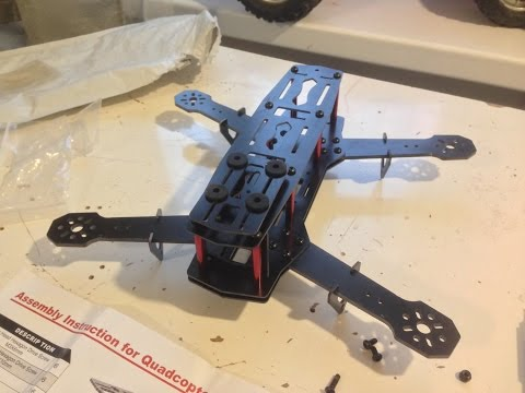 Cheap quadcopter QAV250 frame assembly - UCFcyZa0vIXvIl5WuIMldEuA