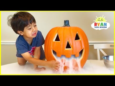 Elephant Toothpaste Science Experiments Halloween Edition!!!