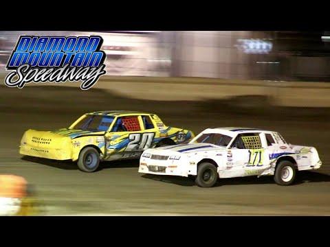 Diamond Mountain Speedway IMCA Hobby Stock Main Event 8/20/21 - dirt track racing video image