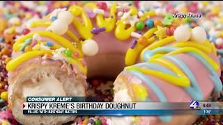 Krispy Kreme's offering special doughnut this week