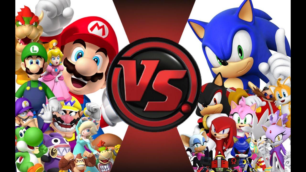 Download mario vs sonic total war cartoon fight club