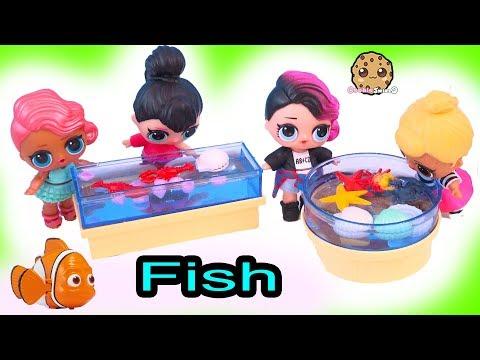 School Field Trip To Aquarium - LOL Surprise Dolls Cookie Swirl Toy Video - UCelMeixAOTs2OQAAi9wU8-g