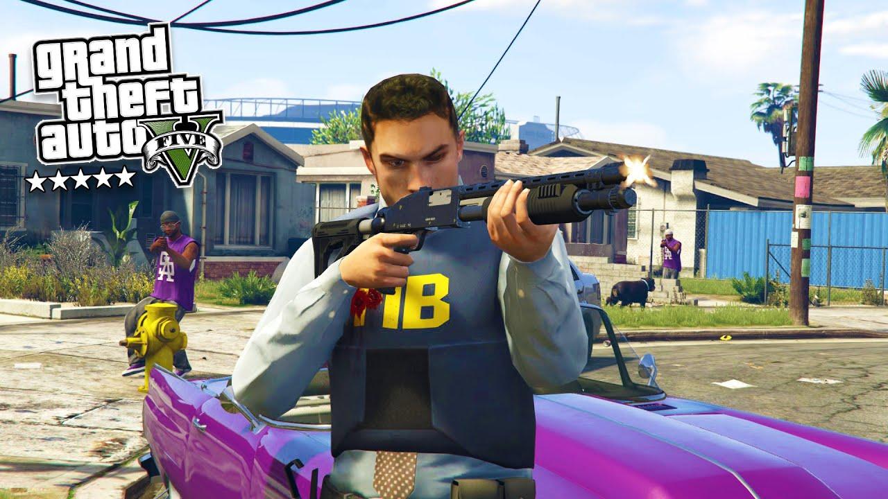 GTA 5 PC Mods - PLAY AS A COP MOD #11! GTA 5 Police Patrol LSPDFR