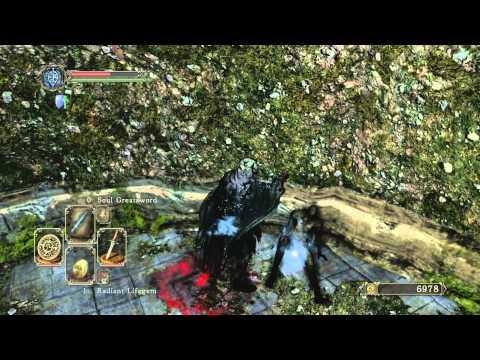 Dark Souls 2 Beta - Sorcerer Gameplay/Skeleton Lord Boss - default