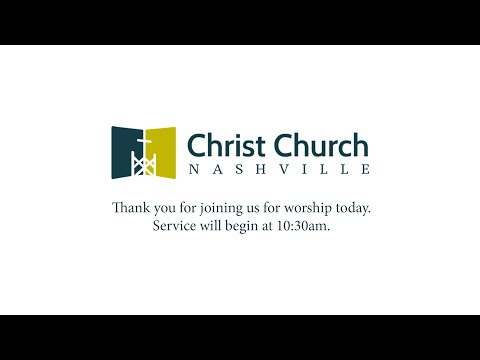 03/22/2020 - Christ Church Nashville LIVE