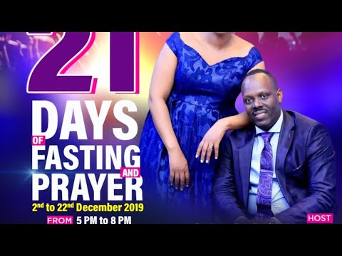 FOURSQUARE TV -  DAY 1 OF 21 DAYS OF FASTING AND PRAYERS - THY KINGDOM COME WITH BISHOP FIDELE M.