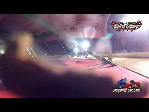 #14 Skler Storment - 4 Cylinder - 4-30-2021 Dallas County Speedway - In Car Camera - dirt track racing video image