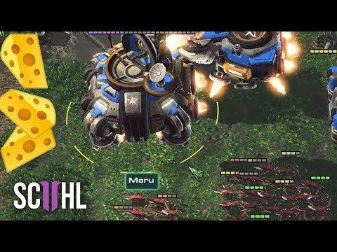 StarCraft II: Wings of Liberty - Protoss Gameplay Video