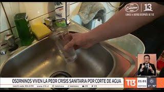La peor crisis sanitaria en Osorno