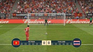 VIETNAM vs THAILAND - PENALTY SHOOTOUT - PES19