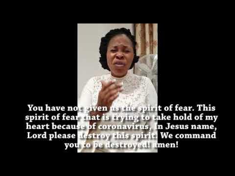 Prayers against CoronaVirus