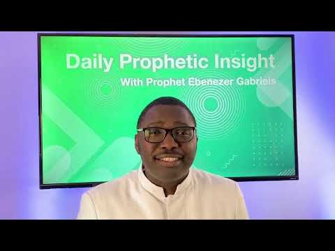 Prophetic Insights Jan 19th, 2021