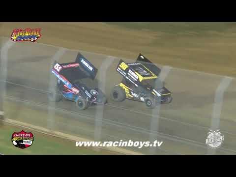 Lucas Oil ASCS Highlights  Lake Ozark Speedway  9 5 21 - dirt track racing video image