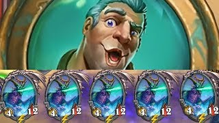 I was sponsored to use an increasingly ridiculous deck premise in Hearthstone