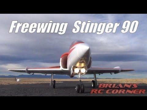 Freewing Stinger 90 - Flight Testing - briguy99