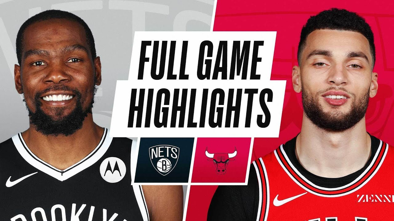 NETS at BULLS | FULL GAME HIGHLIGHTS | May 11, 2021
