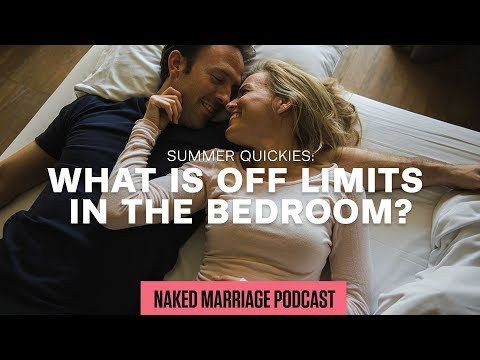 What is off limits in the bedroom?  Dave and Ashley Willis