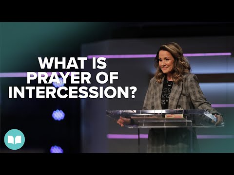 What is the Prayer of Intercession? - Lynne Hammond