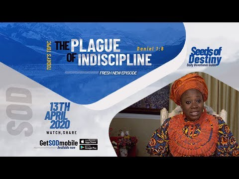Dr Becky Paul-Enenche - SEEDS OF DESTINY - MONDAY, APRIL 13, 2020