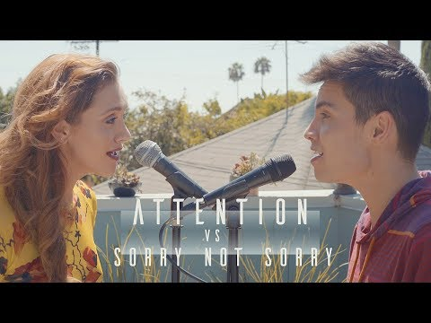 Attention vs. Sorry Not Sorry (Charlie Puth/Demi Lovato MASHUP Cover) [Feat. Alyson Stoner]