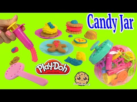 Playdoh Candy Jar Faux Cookies Gummy Bears Candy Lolly Pop Maker Playset - Cookieswirlc - UCelMeixAOTs2OQAAi9wU8-g