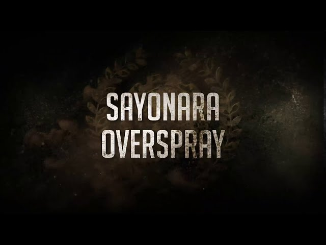 Sayonara Overspray with Titania Pro aircap