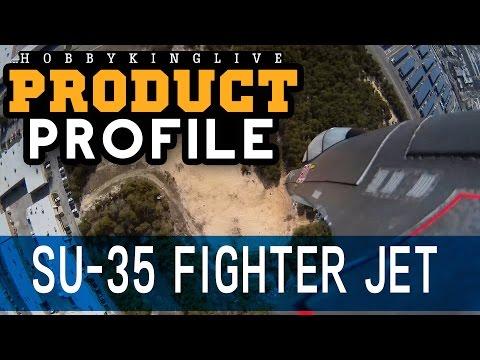 SU-35 Fighter Jet 735mm EPO - Product Profile - HobbyKing Live - UCkNMDHVq-_6aJEh2uRBbRmw