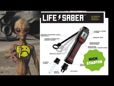 EEVblog #1251 - LifeSaber Kickstarter - A Master of None FAIL - UC2DjFE7Xf11URZqWBigcVOQ