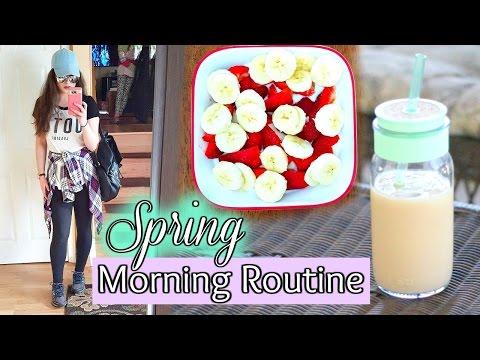 My Spring Morning Routine 2017 - UCXyp4JB_NONE11vAhaEzdbw