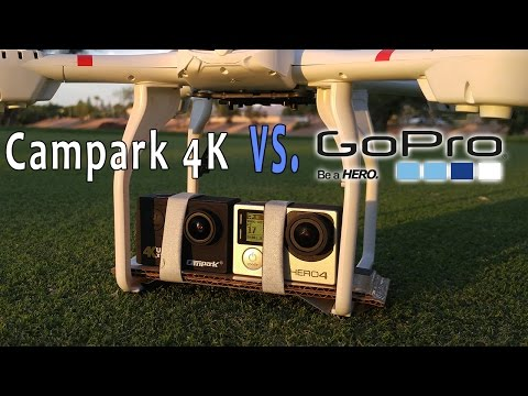Budget 4K Waterproof Action Camera VS GoPro Hero4 Camera