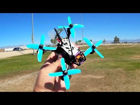Helifar Turtles 135mm Brushless FPV Racing Drone Flight Test Review - UC90A4JdsSoFm1Okfu0DHTuQ