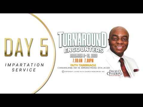 DOMI STREAM: SHILOH 2020  DAY 5  TURNAROUND ENCOUNTERS  IMPARTATION SERVICE