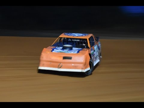 Driver Introductions and Feature race at The Southern Raceway in Milton Florida. - dirt track racing video image
